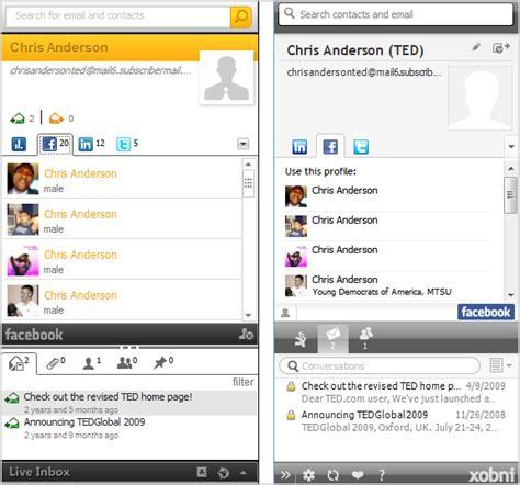Microsoft Outlook Live A Xobni Alternative For Microsoft Outlook Live Inbox