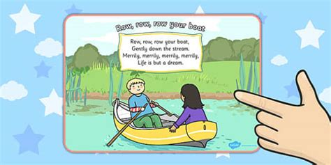 row row your boat in arabic row row row your boat nursery rhyme display poster displays