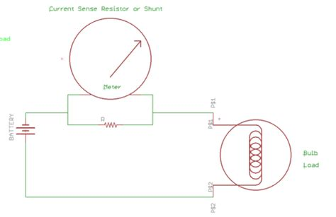 current sense resistor sizing basic circuit building blocks opencircuits