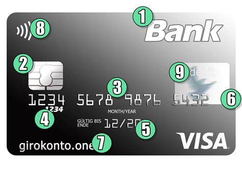 kreditkarten nummer visa wo findet ich die kreditkartennummer aufbau