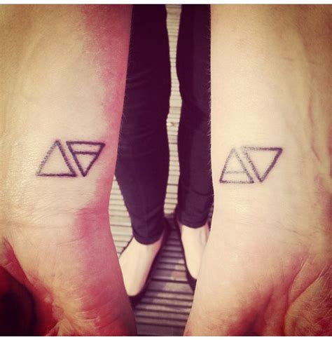 earth tattoo on wrist fire earth air water wrist tattoo elements triangles