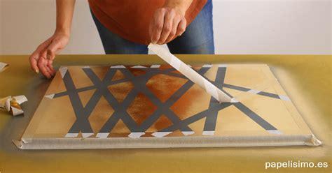 como hacer un cuadro moderno c 243 mo hacer cuadros con spray muy f 225 cil papelisimo
