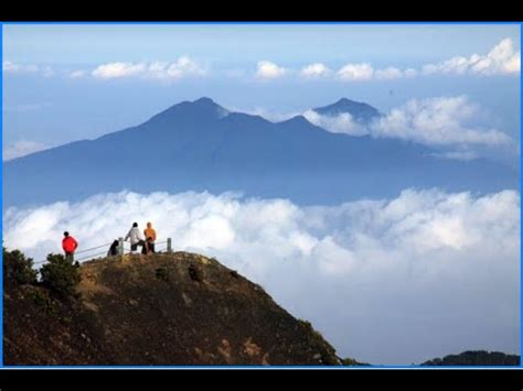 indahnya puncak gunung gede pangrango indonesia youtube