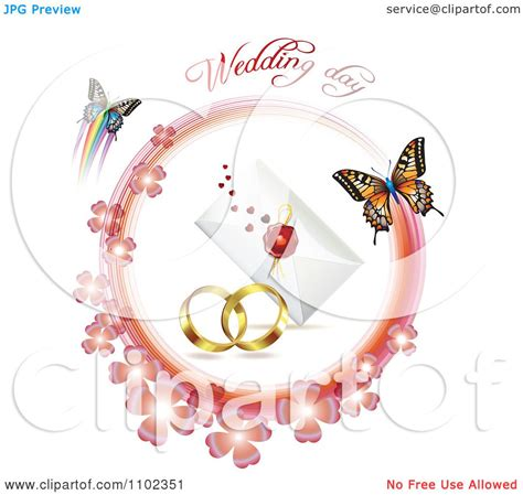 Wedding Clip On Wedding Butterflies by Butterfly Wedding Clipart 68