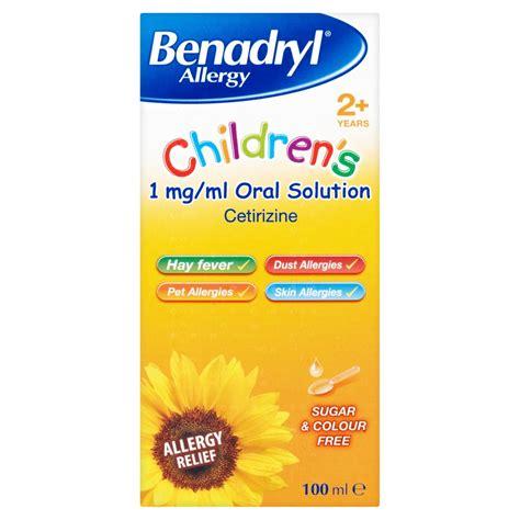 benadryl for allergies benadryl for children allergy solution natures best pharmacy