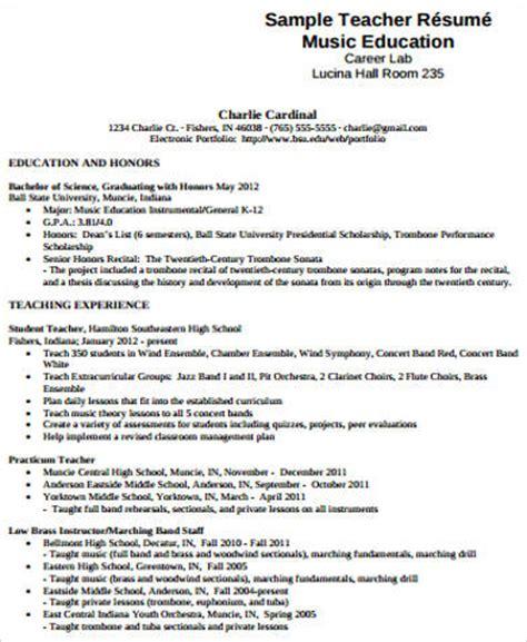 resume examples backgrounds musician resume sample music teacher