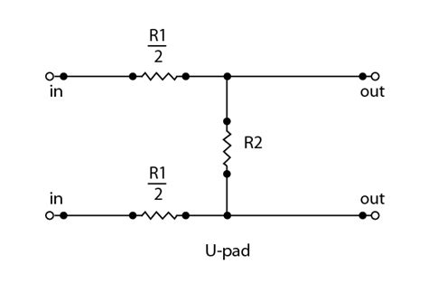 transformer shunt impedance impedance matching attenuators