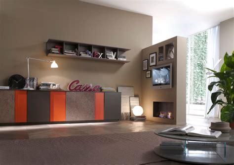 immagini di soggiorni moderni pensili faggio soggiorno