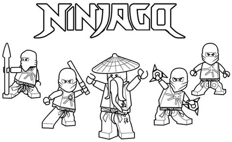 ninjago coloring pages free printable ninjago coloring pages koloringpages