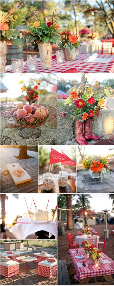 Rustic Garden Wedding Ideas Rustic Outdoor Wedding Ideas