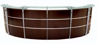 Mobile Reception Desk Walnut Reception Desk In Stock Free Shipping