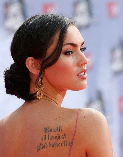 megan fox marilyn monroe tattoo excitement n net tattoos on megan