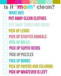cleaning bedroom checklist is it quot mom quot clean bedroom checklist printables a girl