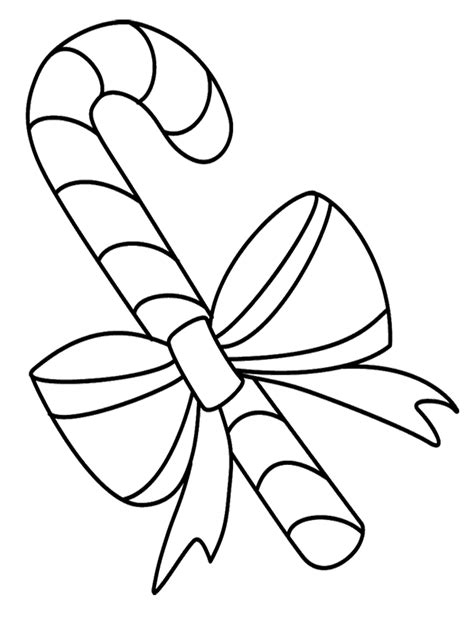 christmas candy coloring pages az coloring pages