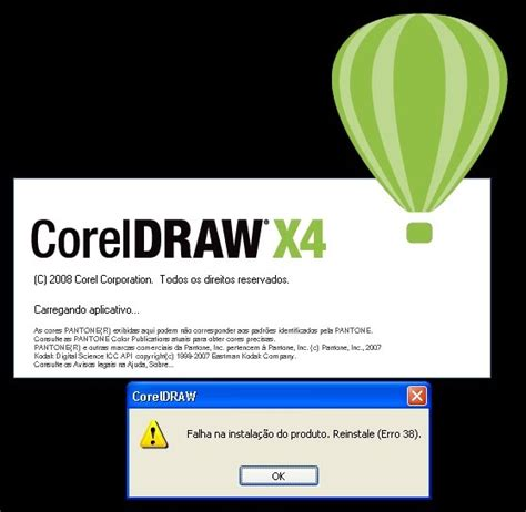 corel draw x4 error 38 windows 7 blog do kelvsoft corre 231 227 o do erro 38 do corel draw x4