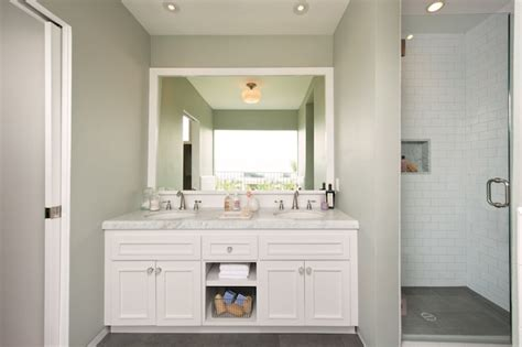 white vanity ideas transitional bathroom simo