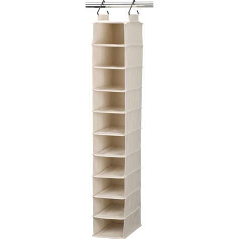 hanging shoe organizer household essentials cedarline hanging canvas shoe