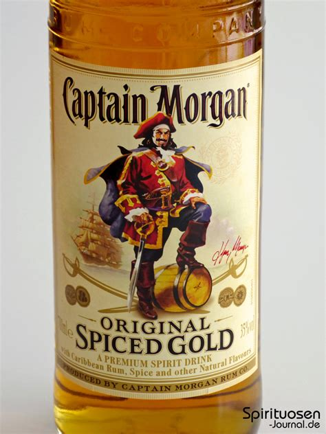captain spiced gold test captain original spiced gold spirituosen