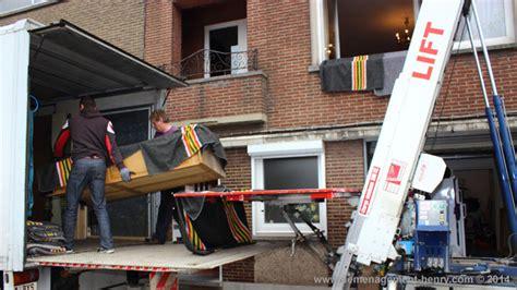 DEMENAGEMENT HENRY Transport Marchienne au Pont ( Charleroi ) Pour la Belgique et les pays