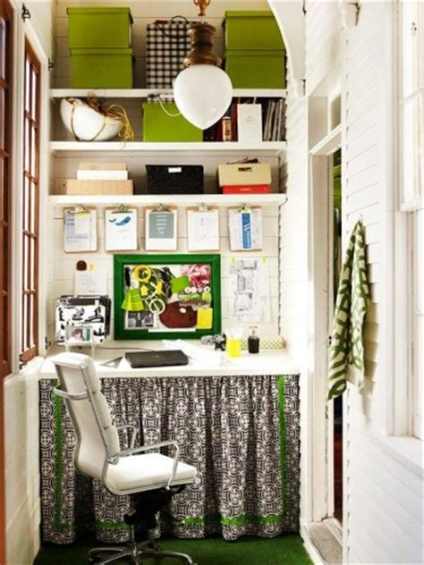 Small Home Office Buildings Decorar Una Oficina Peque 241 A En Casa
