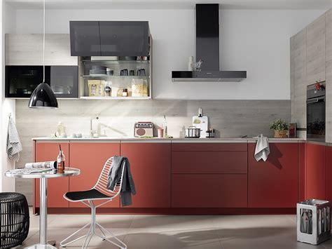 rote und weiße küche hochbett selber bauen