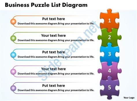 Bar Design Ideas Your Home business puzzle list diagarm powerpoint templates ppt