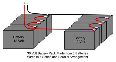 12 volt battery wiring diagram 36 36 volt club car