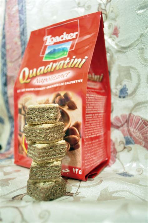 Cocolate Crispy Snack Wafer Coklat my fave snack loacker quadratini napolitaner chocolate wafer everything sweet savory
