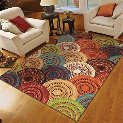7 x 7 area rug orian rugs circles gomaz multi area rug 7 8 x 10 10