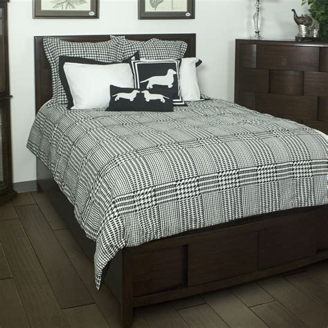 houndstooth bedding houndstooth by rizzy home bedding beddingsuperstore com