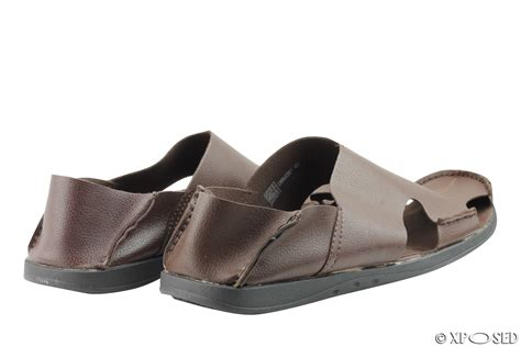 mens soft leather sandals mens soft real leather light weight shoes summer mules