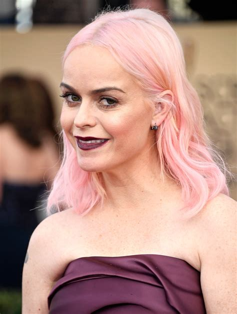 hair pink manning pink hair at the 2017 sag awards popsugar