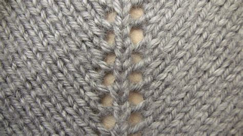 increasing stitches in knitting lesson 5 increasing type 2 a gap