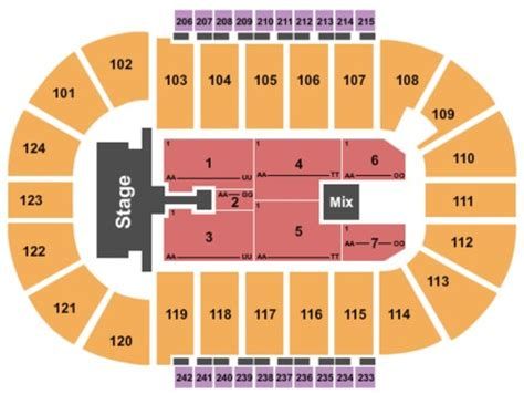 santander arena seating santander arena tickets and santander arena seating charts