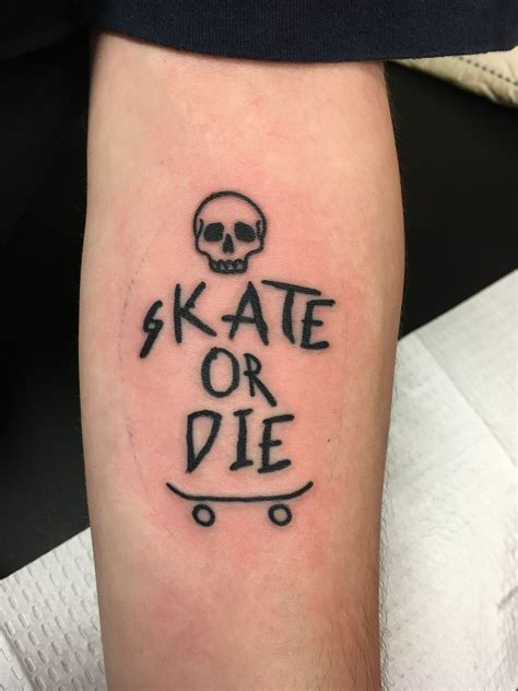 skateboard tattoos skate or die skate or die skateboarding