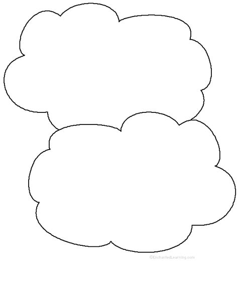 cloud writing paper weather related activities at enchantedlearning