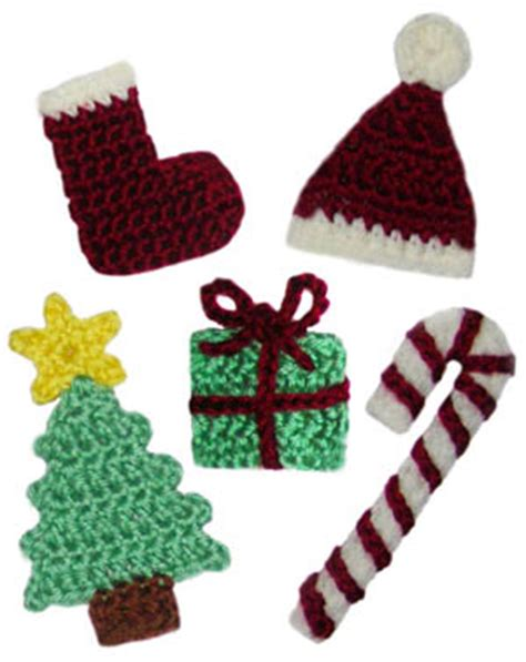 crochet christmas tree applique pattern free thread crochet pattern christmas easy crochet patterns