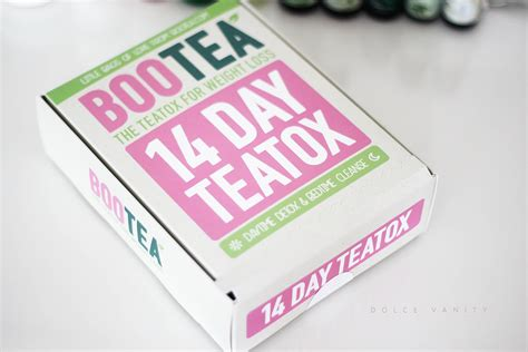 Bootea 14 Day Detox Reviews by Bootea 14 Day Teatox Dolc 233 Vanity