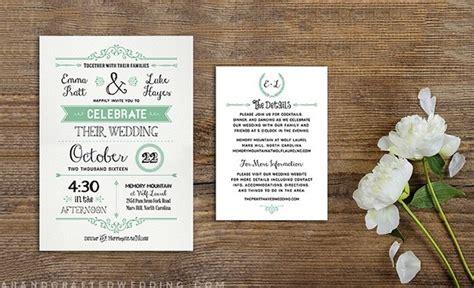 Wedding Invitations Ky by Wedding Invitation Templates You Will Modwedding