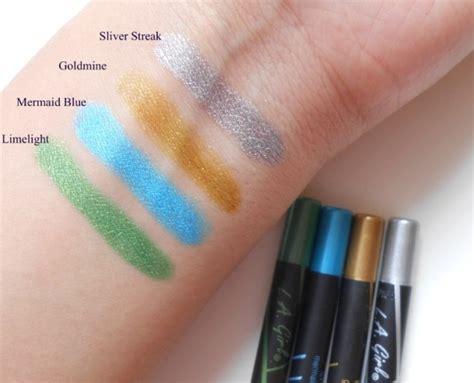 Eyeliner Silkygirl Silver l a silver streak gel glide eyeliner pencil review