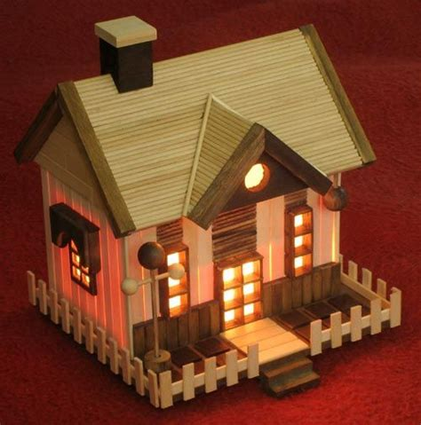house craft for 78 best ideas about popsicle stick houses on