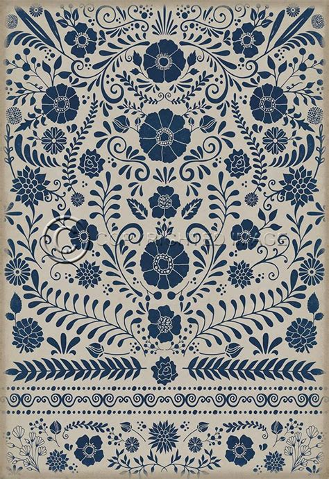 victorian pattern vinyl four brand new vintage vinyl floor cloths now available
