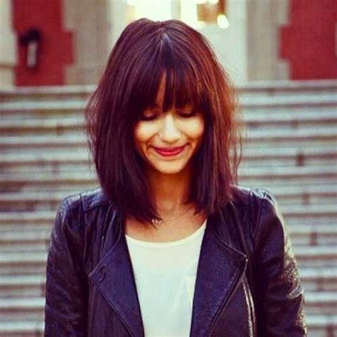 2017 Hairstyles For 50 With Bangs by 50 Best Bob Hairstyles With Bangs Bob Hairstyles 2017