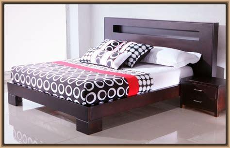 dise os de camas de madera cama de madera moderna con camas de matrimonio para