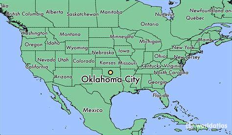 oklahoma city us map where is oklahoma city ok where is oklahoma city ok