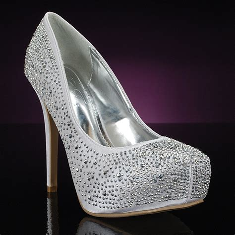 11 best images about silver prom shoes on prom