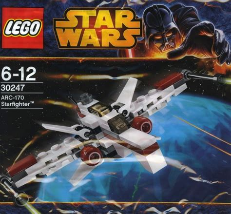 Lego Wars Arc 170 Starfighter 30247 Polybag Segel Ori bricker конструктор lego 30247 arc 170 starfighter