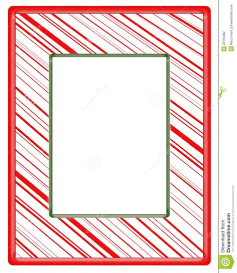 red stripe boarders christmas red striped frame with green border stock illustration