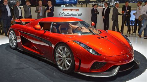 koenigsegg regera red the koenigsegg regera is the most insane hybrid on earth