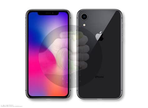 9 Iphone X by 6 1 Iphone X 2018 Render Leak 171 Slashleaks